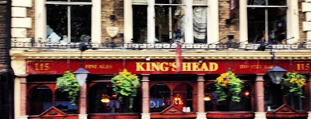 King's Head Theatre Pub is one of Bars & Clubs & Food.