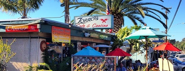Zorro's Cafe & Cantina is one of Orte, die Jason gefallen.