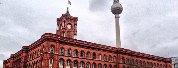 Красная ратуша is one of Mark.Berlin.