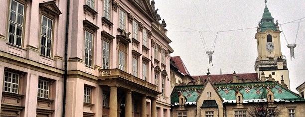 Primaciálny palác is one of Slovensko - Must Visit.