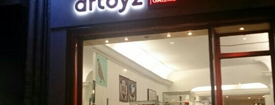 Artoyz Shop + Galerie is one of Nerdy and Artsy Places that Rock!.