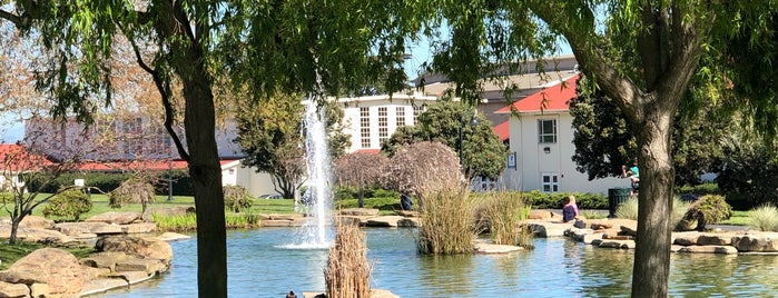 Presidio Pond is one of Sf.