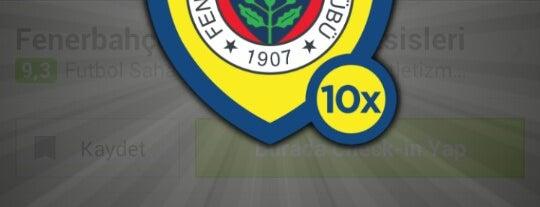 Fenerbahçe SK Dereağzı Lefter Küçükandonyadis Tesisleri is one of Fenerbahçe SK Badge.