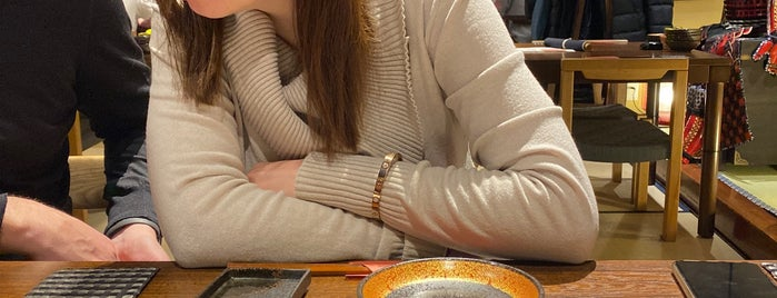 庄屋丸八 肴七味屋 le pain Boule CAFE is one of Sigeki's Saved Places.