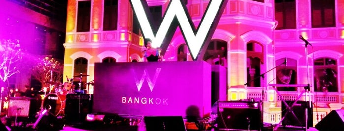 W Bangkok is one of Amex Mag.