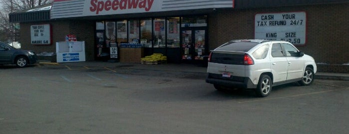 Speedway is one of Pick Gas Stations.