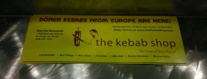 The Kebab Shop is one of San Diego as it's best..