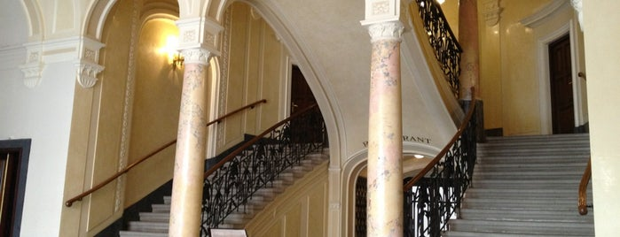 Готель «Жорж» / George Hotel is one of Tempat yang Disimpan Sumru.