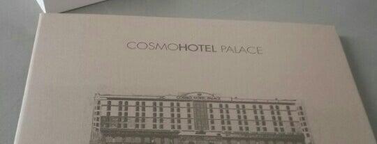 Sala Congressi Cosmo Palace Hotel is one of Lugares favoritos de Tolga.