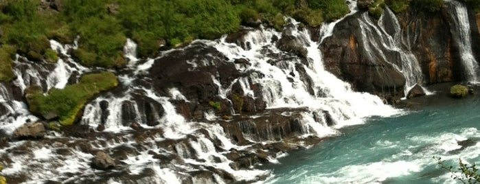 Hraunfossar is one of Iceland Grand Tour.