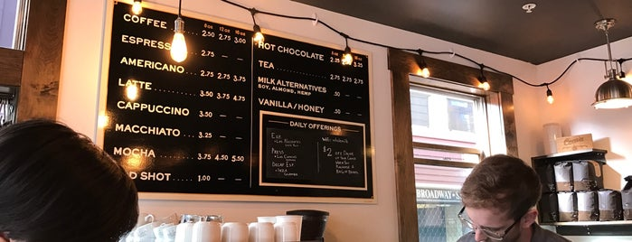 Saint Simon Coffee Co. is one of Portland Picks.