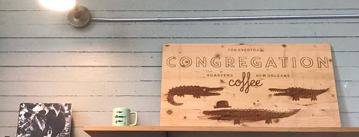 Congregation Coffee Roasters is one of New Orleans.