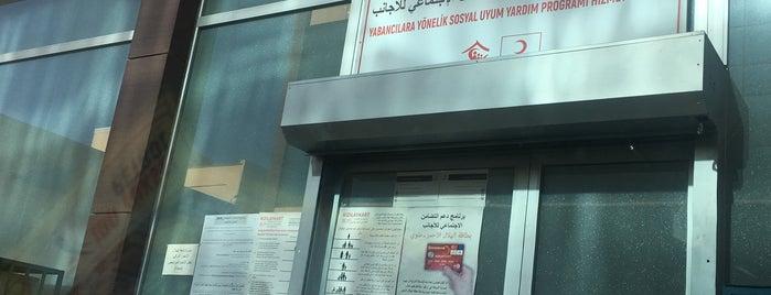 Türk Kızılayı Yabancılara Yönelik Sosyal Uyum Yardım Merkezi is one of Metin'in Beğendiği Mekanlar.