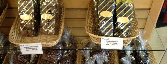 Watson's Chocolates & Ice Cream is one of Locais curtidos por Anne Shirley.