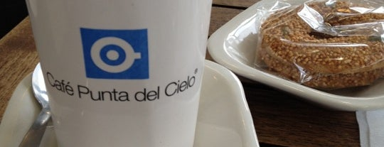 Café Punta del Cielo is one of Lugares obligados.