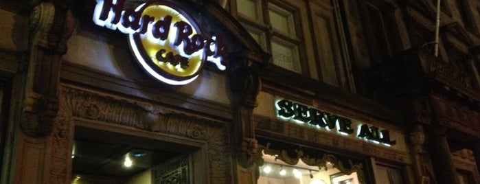Hard Rock Cafe Edinburgh is one of Uk places.
