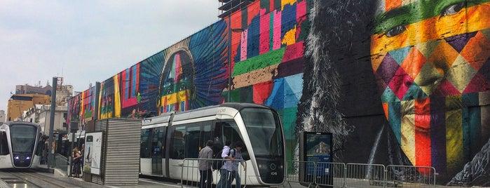 VLT Carioca - Estação Parada dos Navios is one of Linda 님이 좋아한 장소.