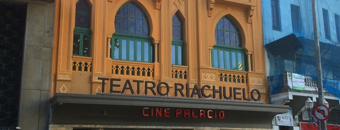 Teatro Riachuelo is one of Locais curtidos por Daniel.