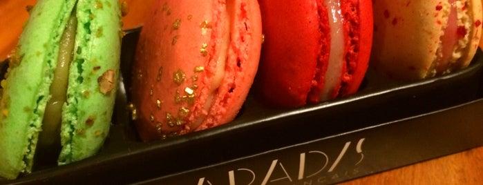 Paradis Délices Français is one of Melhores Confeitarias, Padarias, Cafés do RJ.