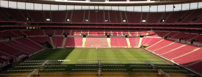 Türk Telekom Stadyumu is one of Istanbul - En Fazla Check-in Yapılan Yerler-.