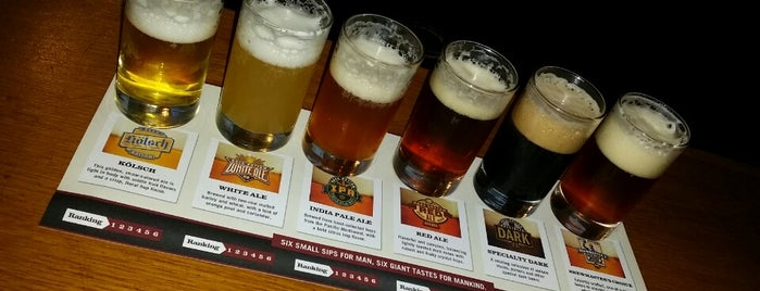 Rock Bottom Restaurant & Brewery is one of Washington DC Brewery Tour.