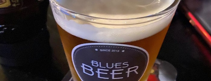 Blues Beer is one of SP - Léo e Gabi.