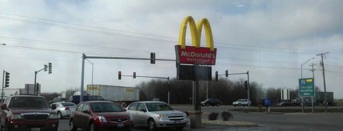 McDonald's is one of Andy : понравившиеся места.