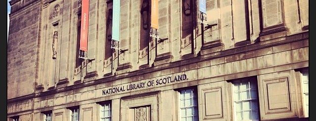 National Library of Scotland is one of Orte, die Carl gefallen.