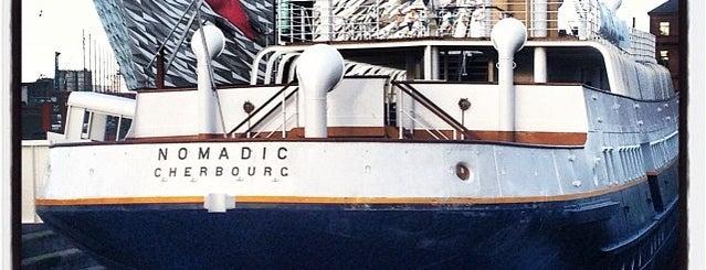 SS Nomadic is one of สถานที่ที่ Carl ถูกใจ.