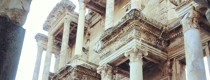 Library of Celsus is one of * ECOTOURISM GUIDE *.