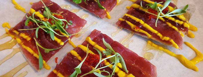 Kraken Crudo is one of Places to try.