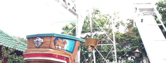 Wahana Kora-Kora (Boat Ride) is one of SHASYA ACTIVITY.