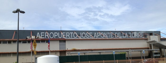 José Aponte De La Torre Airport [RVR] is one of Airports I've Landed.