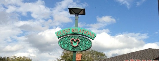 Guest Relations West Side is one of Disney Springs.