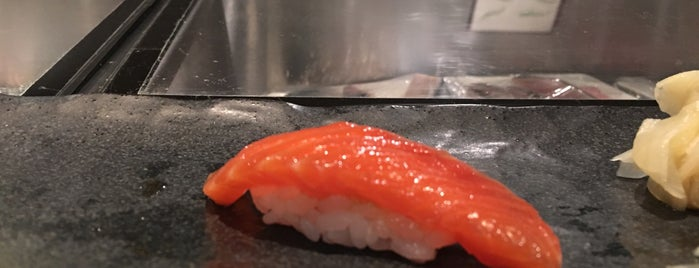 Ushiwakamaru is one of NYC Michelin Star Sushi - 2017.