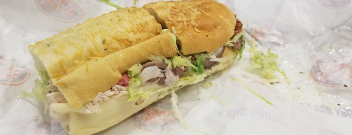 Jersey Mike's Subs is one of Annette 님이 저장한 장소.