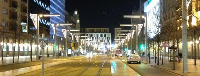 Paseo de la Independencia is one of Tempat yang Disukai David.
