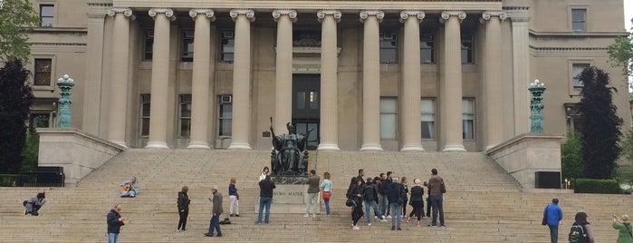 Columbia University - Prentis Hall is one of Orte, die Devin gefallen.