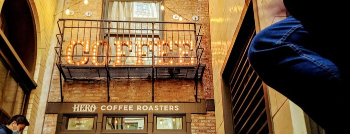 Hero Coffee Bar is one of My fav.