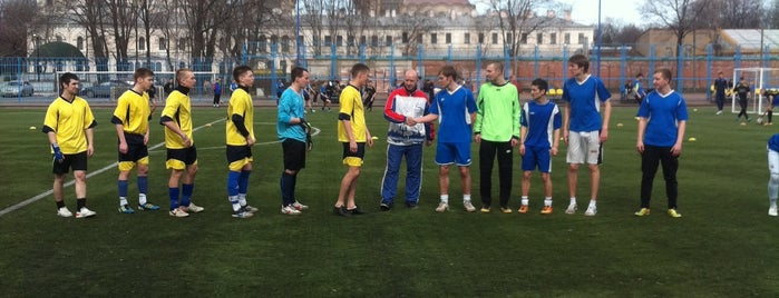 Филиал Академии ФК Зенит is one of Lieux sauvegardés par Zenit Football Club.