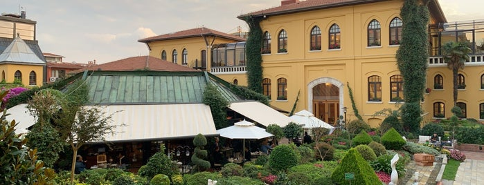 Terrace Four Seasons Hotel Sultanahmet is one of Istanbul, TK.