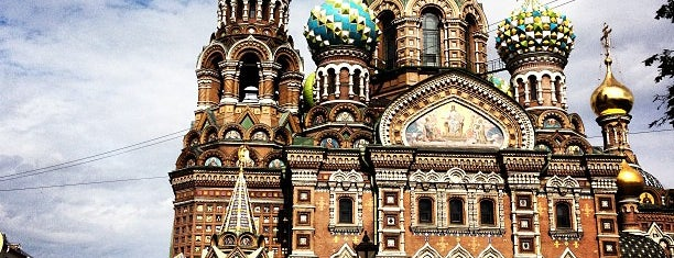 Church of the Savior on the Spilled Blood is one of Russia.
