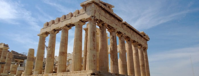 Parthenon is one of Grecia.