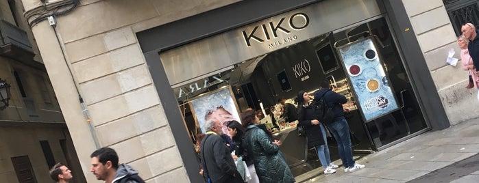 Kiko Milano is one of Canan: сохраненные места.