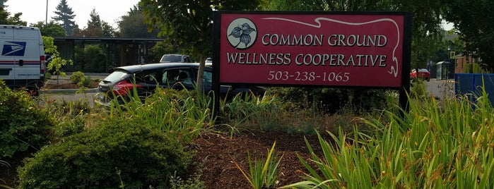 Common Ground Wellness Center is one of Portland.