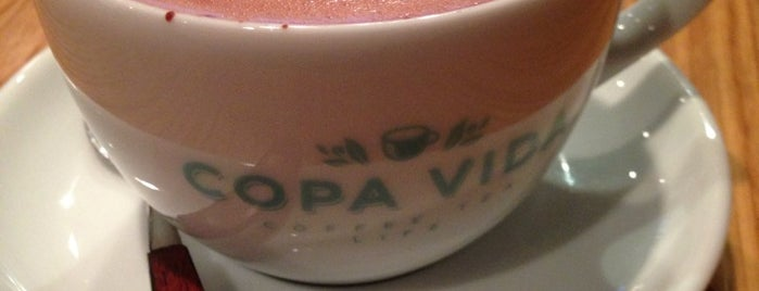 Copa Vida is one of L.A. Coffeeshops for LANG.