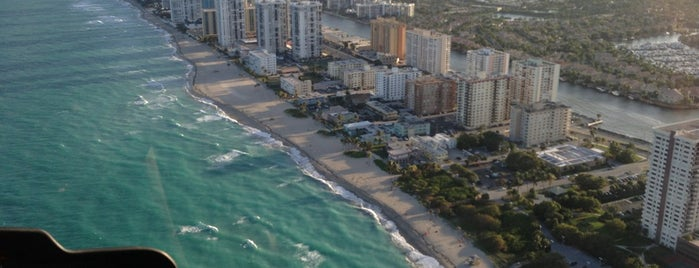 Hollywood Beach is one of Florida.