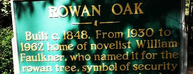 Rowan Oak is one of Mississippi.