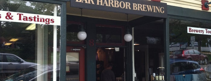 Bar Harbor Brewing Company is one of Bières des États.