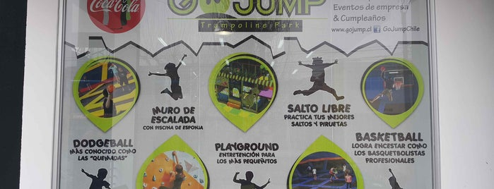 GoJump Chile is one of Locais curtidos por Jose Miguel.